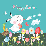 Happy easter bunny Royalty Free Stock Photo