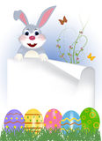 Happy easter bunny Royalty Free Stock Photography