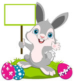 Happy easter bunny vector illustration