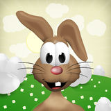 Happy Easter Bunny. 3d graphic illustration design Royalty Free Stock Image