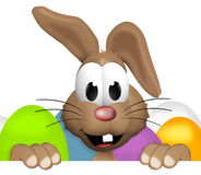 Happy Easter Bunny. 3d graphic illustration design Royalty Free Stock Photography