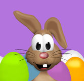 Happy Easter Bunny. 3d graphic illustration design Royalty Free Stock Photo