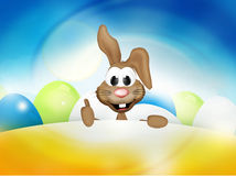 Happy Easter Bunny Easter Time Stock Photos