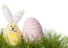 Happy Easter Bunny Egg Stock Photo