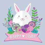 Happy Easter bunny Royalty Free Stock Photos