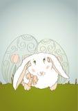Happy Easter Bunny Retro Stock Photography