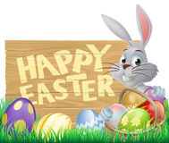 Happy Easter bunny Stock Image