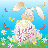 Happy Easter Bunny Royalty Free Stock Images