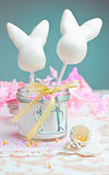 Happy Easter Cake pops Stock Photos