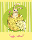 Happy Easter card 1 Royalty Free Stock Photography