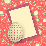 Happy Easter Card Stock Photography