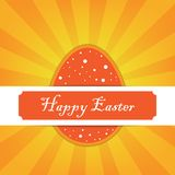 Happy Easter Card. Vector illustration Royalty Free Stock Images