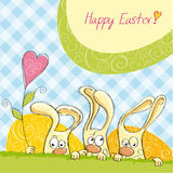 Happy Easter card 3 Stock Images
