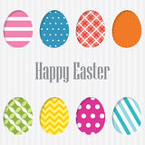 Happy Easter Card. . Stock Images