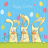 Happy Easter card 6 Royalty Free Stock Photography