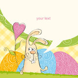 Happy Easter card 7 Royalty Free Stock Photography