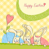 Happy Easter card 8 Royalty Free Stock Photography