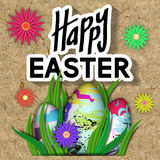 Happy Easter Card. Stock Image