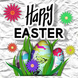 Happy Easter Card. Royalty Free Stock Photo