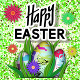 Happy Easter Card. Royalty Free Stock Photos