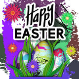 Happy Easter Card. Royalty Free Stock Images