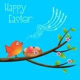Happy Easter Card Royalty Free Stock Photos