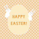 Happy Easter card3 Stock Photo