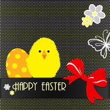 Happy Easter card design Royalty Free Stock Photo