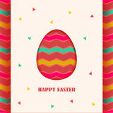 Happy Easter card design element Stock Photo