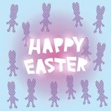 Happy Easter card design. vector. Happy Easter greeting card design. vector illustration Royalty Free Stock Images