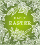 Happy Easter Card. Stock Photography