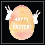 Happy Easter card1 Royalty Free Stock Photography