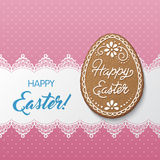 Happy Easter card Royalty Free Stock Image