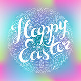 Happy Easter card. Royalty Free Stock Photography