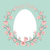 Happy Easter card with place for your text. Royalty Free Stock Photography