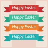 Happy Easter card template Stock Photo