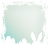 Happy easter card template. EPS 8 Stock Photography