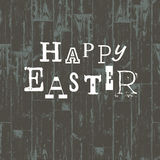 Happy Easter Card Template. Royalty Free Stock Photos