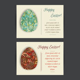 Happy Easter Card Templates Stock Photo