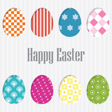 Happy Easter Card. vector. Stock Photography