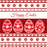 Happy Easter Card - Vector Stock Photography