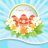 Happy Easter Card - Vector Royalty Free Stock Photos