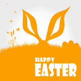 Happy easter cards illustration Stock Photo