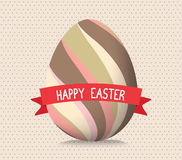Happy easter cards illustration retro vintage with easter Royalty Free Stock Photography