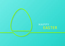 Happy Easter celebrations greeting card design Royalty Free Stock Image
