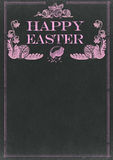 Happy Easter Chalkboard Stock Images