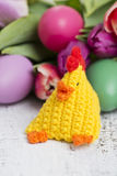 Happy easter chicken Royalty Free Stock Photo
