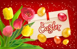 Happy easter collection stock illustration