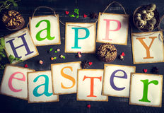 Happy Easter concept Stock Images