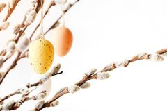 Happy Easter. Congratulatory easter background. stock photos